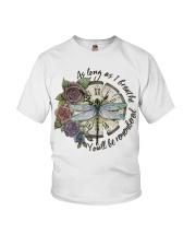 As Long As I Breath Youth T-Shirt thumbnail