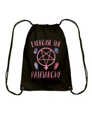 Excercise The Pairiarchy Drawstring Bag thumbnail