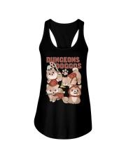 Dungeons Doggos Ladies Flowy Tank thumbnail