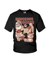 Dungeons Doggos Youth T-Shirt thumbnail