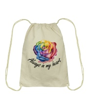 You Will Be Remembered Drawstring Bag tile