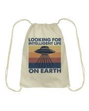 Look For Intelligent Life Drawstring Bag thumbnail