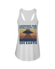 Look For Intelligent Life Ladies Flowy Tank thumbnail