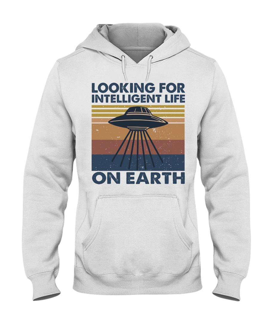 Look For Intelligent Life Hooded Sweatshirt