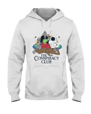 The Conspiracy Club Hooded Sweatshirt front