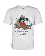 The Conspiracy Club V-Neck T-Shirt thumbnail