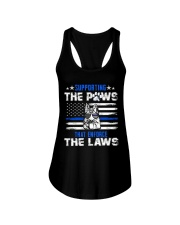 Supporting The Paws Ladies Flowy Tank thumbnail