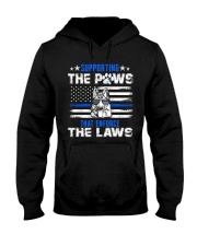 Supporting The Paws Hooded Sweatshirt thumbnail