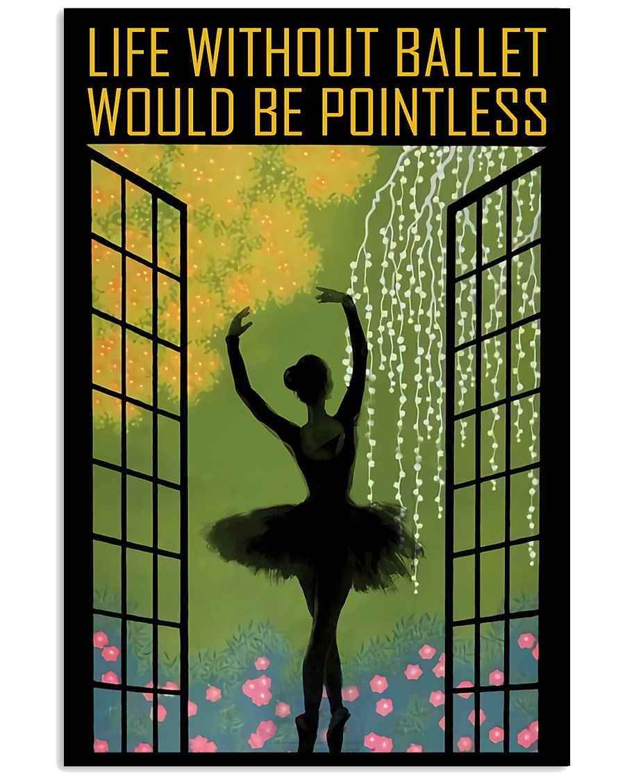Life Without Ballet 11x17 Poster