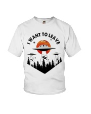 I Want To Leave Youth T-Shirt thumbnail