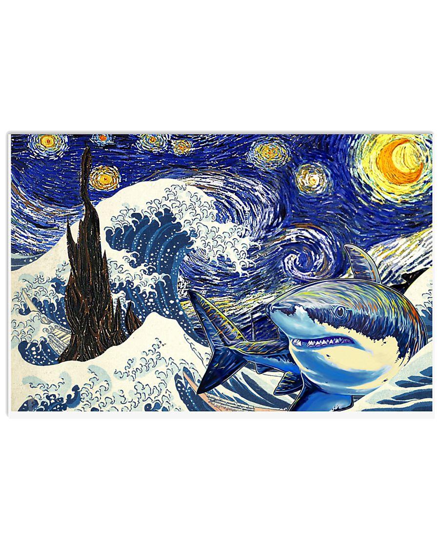 Shark Poster 17x11 Poster