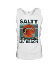 Salty Lil Beach Unisex Tank thumbnail