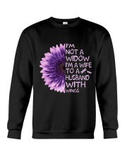 Im Not A Widow Crewneck Sweatshirt thumbnail