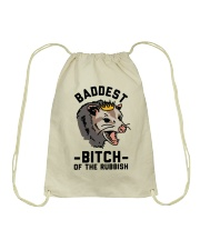 Baddest Of The Rubbish Drawstring Bag thumbnail
