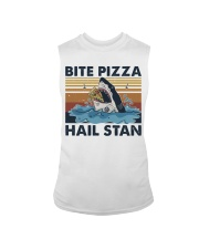 Shark Bite Pizza Sleeveless Tee thumbnail
