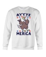 Yayyye Merica Crewneck Sweatshirt thumbnail
