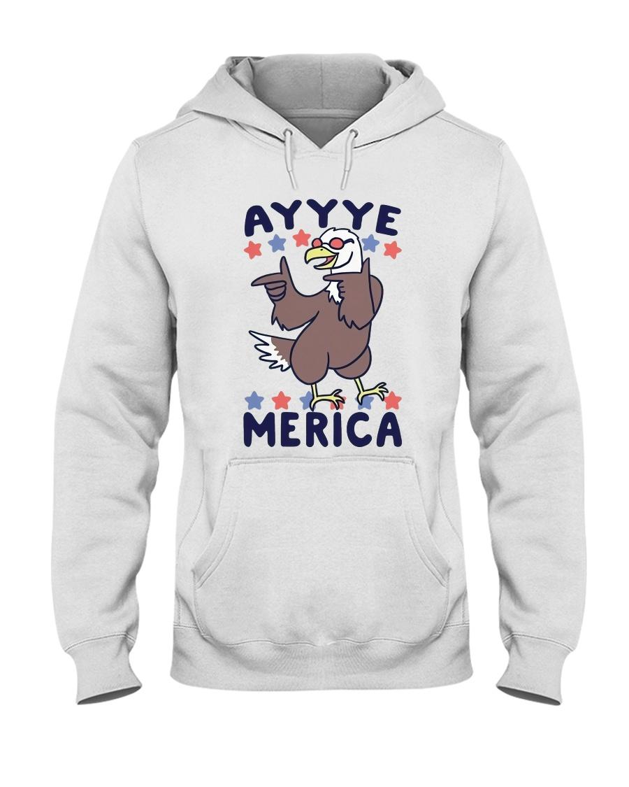 Yayyye Merica Hooded Sweatshirt