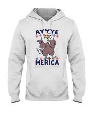 Yayyye Merica Hooded Sweatshirt front