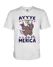 Yayyye Merica V-Neck T-Shirt thumbnail