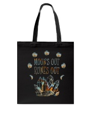 Moon Out Runes Out Tote Bag thumbnail