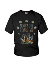 Moon Out Runes Out Youth T-Shirt thumbnail