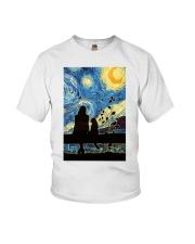 And She Lived Happily Youth T-Shirt thumbnail