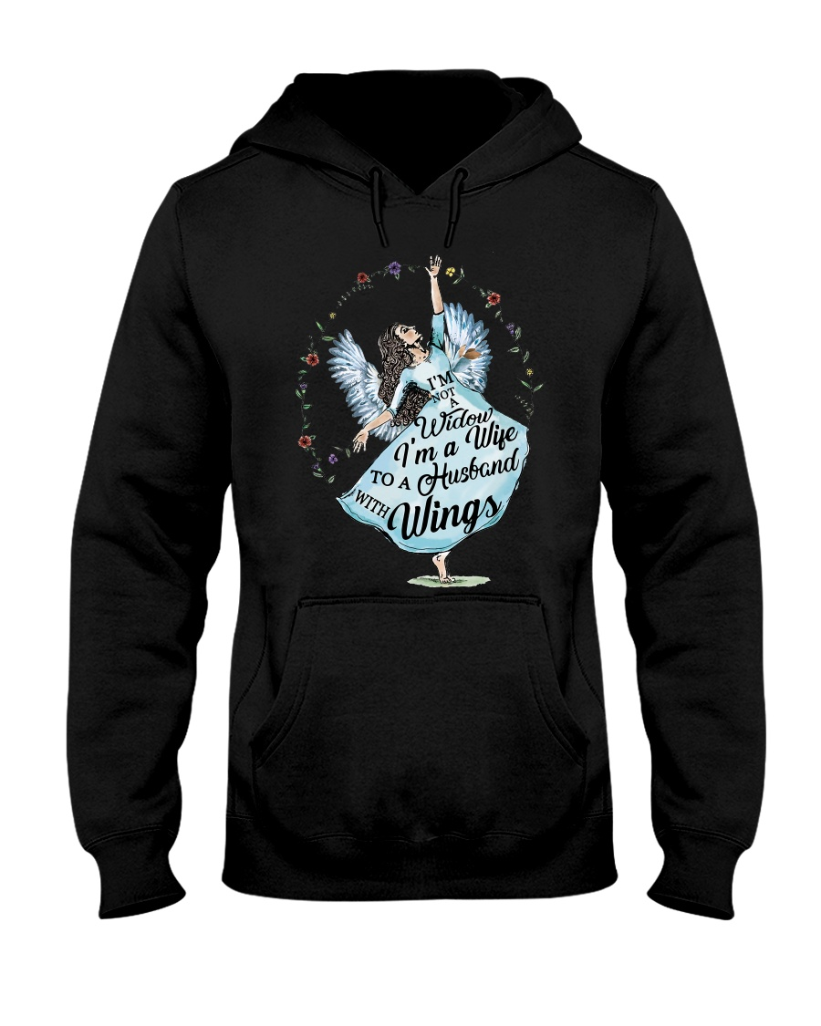 Im A Wife To A Husband With Wings Hooded Sweatshirt