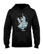 Im A Wife To A Husband With Wings Hooded Sweatshirt front