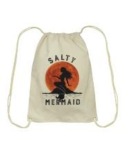 Salty Mermaid Drawstring Bag thumbnail