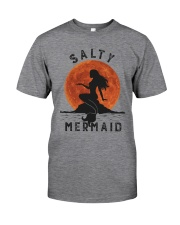Salty Mermaid Classic T-Shirt front