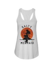 Salty Mermaid Ladies Flowy Tank thumbnail