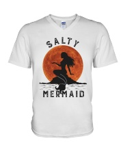 Salty Mermaid V-Neck T-Shirt thumbnail
