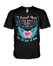 I Loved You Your Whole V-Neck T-Shirt tile