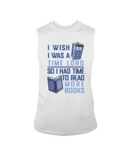 I Wish I Was A Time Lord Sleeveless Tee thumbnail