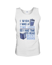 I Wish I Was A Time Lord Unisex Tank thumbnail