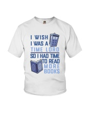 I Wish I Was A Time Lord Youth T-Shirt thumbnail