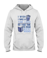 I Wish I Was A Time Lord Hooded Sweatshirt thumbnail