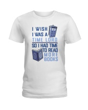 I Wish I Was A Time Lord Ladies T-Shirt thumbnail