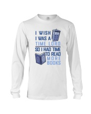 I Wish I Was A Time Lord Long Sleeve Tee thumbnail