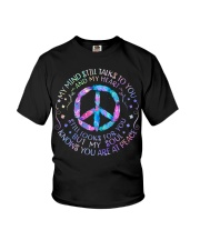 My Mind Still Talks To You Youth T-Shirt thumbnail