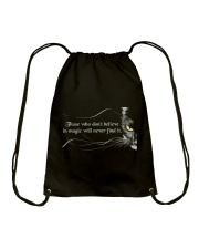 Those Who Do Not Believe Drawstring Bag thumbnail