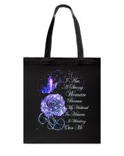 I Am A Strong Woman Tote Bag thumbnail