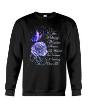 I Am A Strong Woman Crewneck Sweatshirt thumbnail