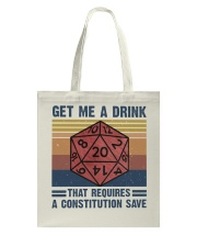 Get Me A Drink Tote Bag thumbnail