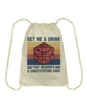 Get Me A Drink Drawstring Bag thumbnail