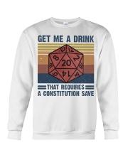 Get Me A Drink Crewneck Sweatshirt thumbnail