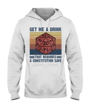Get Me A Drink Hooded Sweatshirt thumbnail