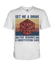 Get Me A Drink V-Neck T-Shirt thumbnail