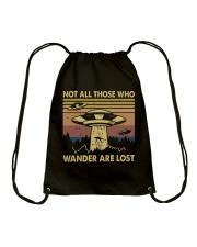 Not All Those Who Wander Drawstring Bag thumbnail
