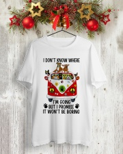 I Don Know Where Classic T-Shirt lifestyle-holiday-crewneck-front-2